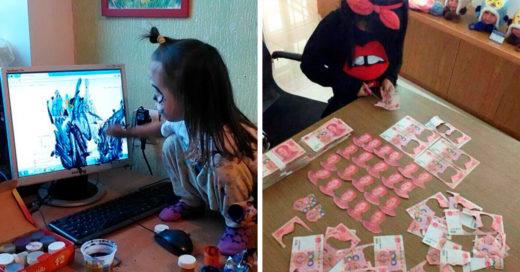 20 Divertidas imágenes que comprueban lo que pasa cuando dejas solo a un niño