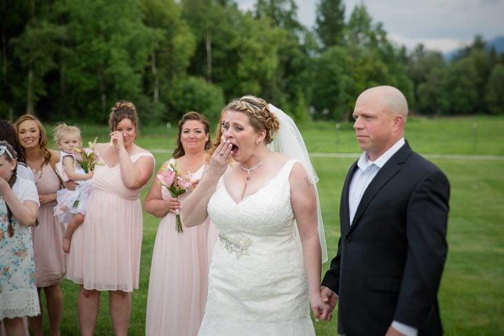 novia sorprendida 2