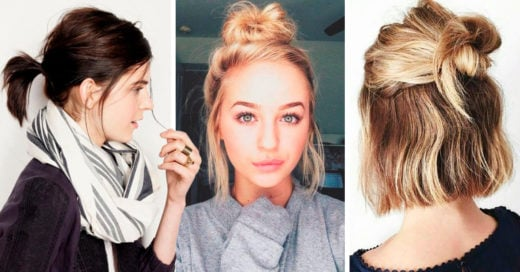 15 Increíbles peinados que salvarán tu cabellera en temporada de lluvias