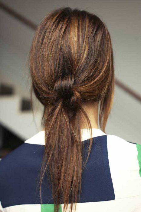 Peinado para tiempo de lluvia