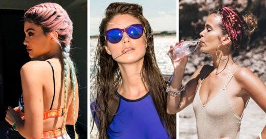 10 Hermosos peinados que puedes lucir en la playa