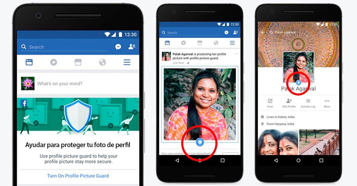 Facebook agrega una aplicación para evitar el robo de identidad