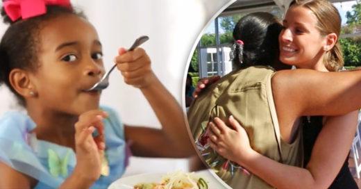 Su prometido canceló la boda y ella decidió obsequiar el banquete a personas sin hogar