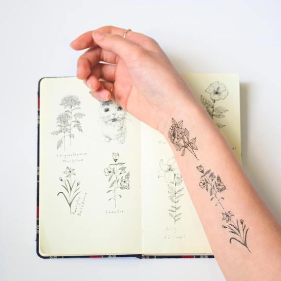 set tattoo temporal