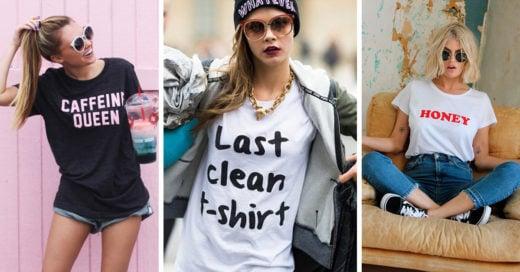 La forma más cool de llevar tus t-shirts y por qué es un básico para cualquier chica