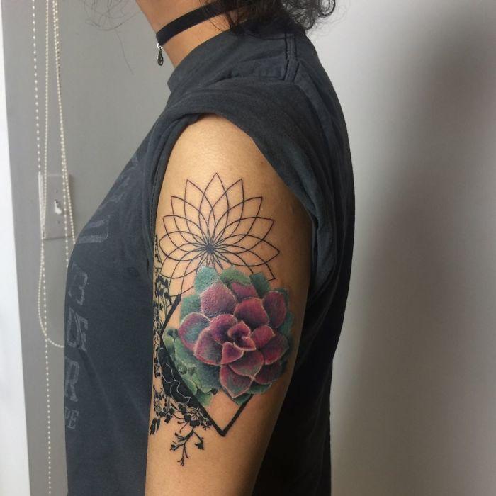 tatuajes suculentas 11