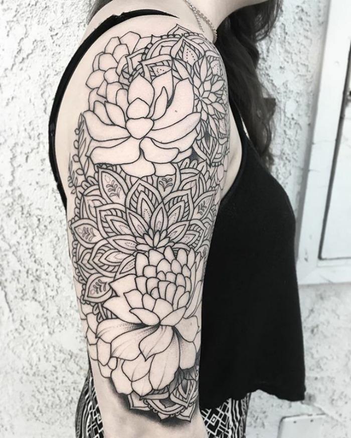tatuajes suculentas 12