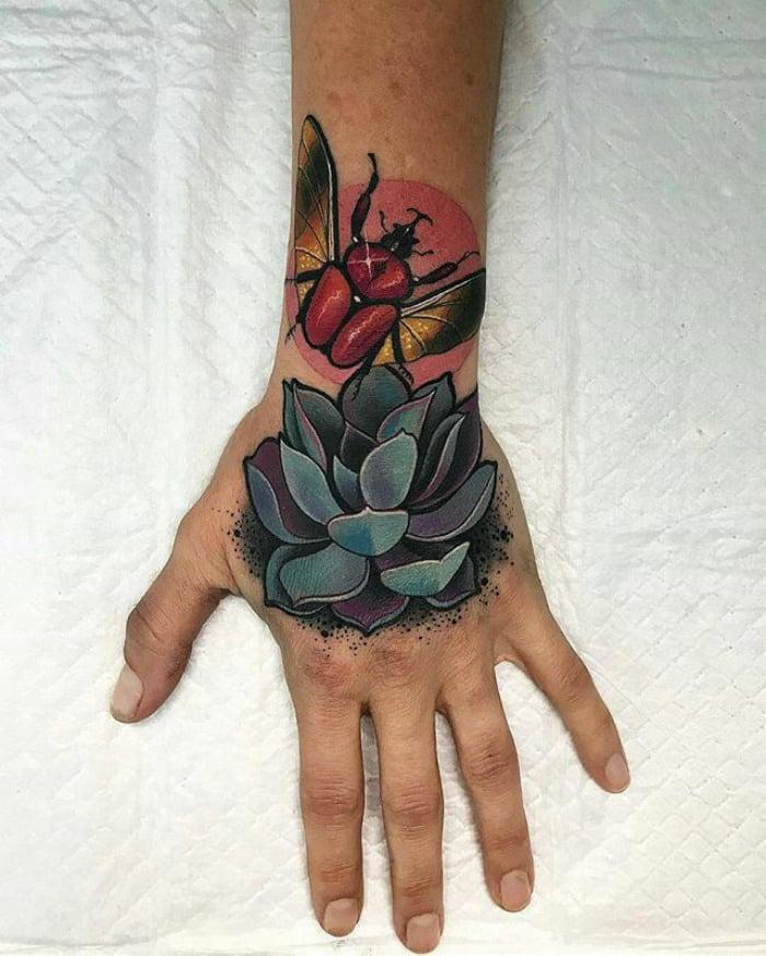 tatuajes suculentas 13