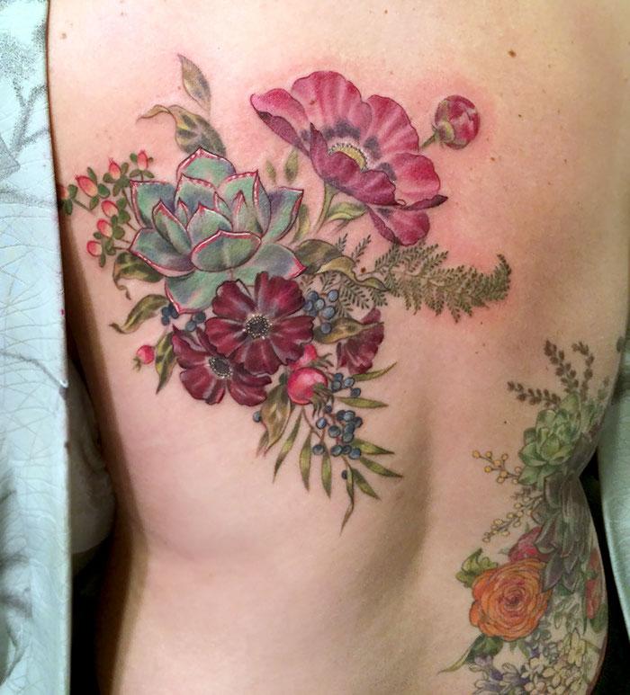 tatuajes suculentas 15