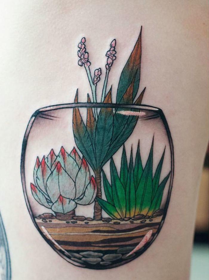 tatuajes suculentas 19