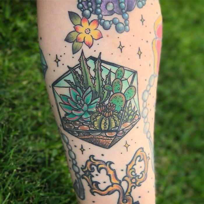 tatuajes suculentas 26