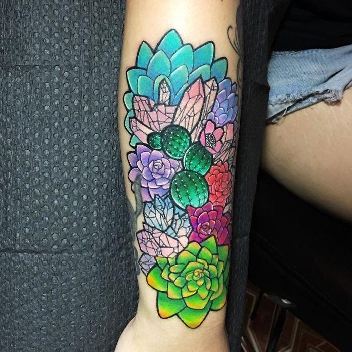tatuajes suculentas 28