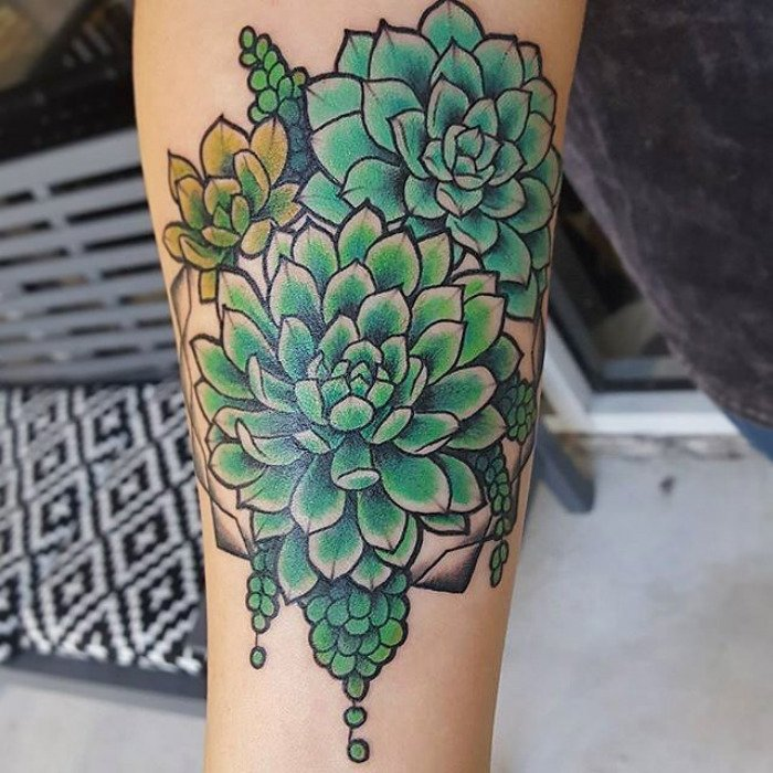 tatuajes suculentas 30