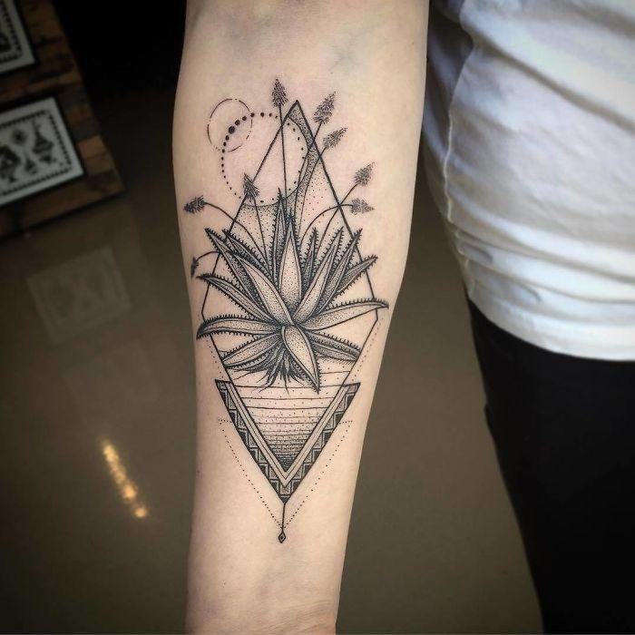 tatuajes suculentas 35