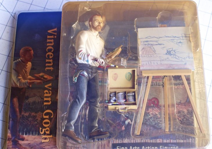 van gogh actionfigure