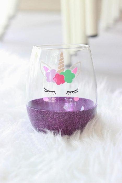 vaso unicornio