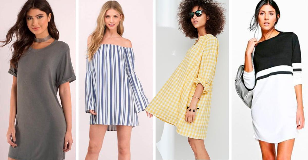 10 grandiosos vestidos con mangas que podrás usar durante el verano
