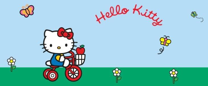 Hello Kitty es una niña