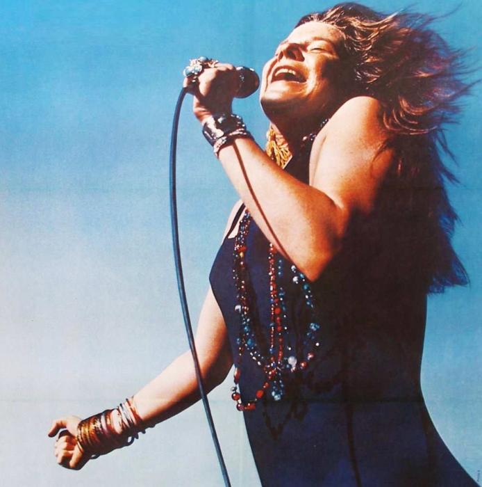 Janis Joplin divas de la música que no supieron amar