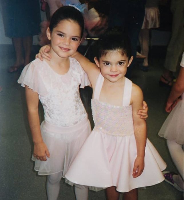 Kylie Jenner clase de ballet