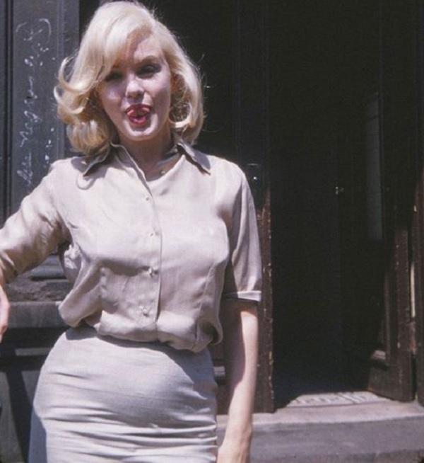 foto de marilyn monroe supuestamente embarazada