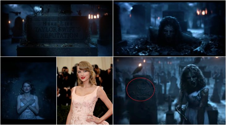Taylor esta muerta referencias de su video
