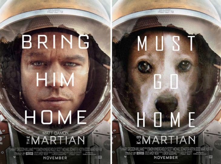 Bring Him Home póster con perro como protagonista