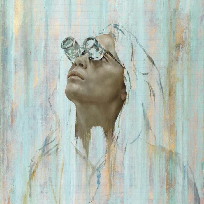 Retrato de Cara Delevingne por Jonathan Yeo