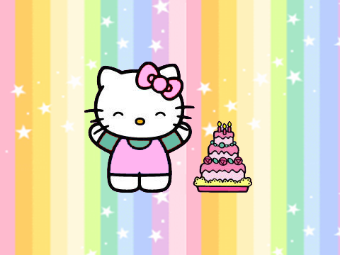 Hello Kitty tiene cinco años