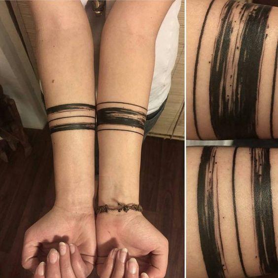 tatuajes de lineas intensas