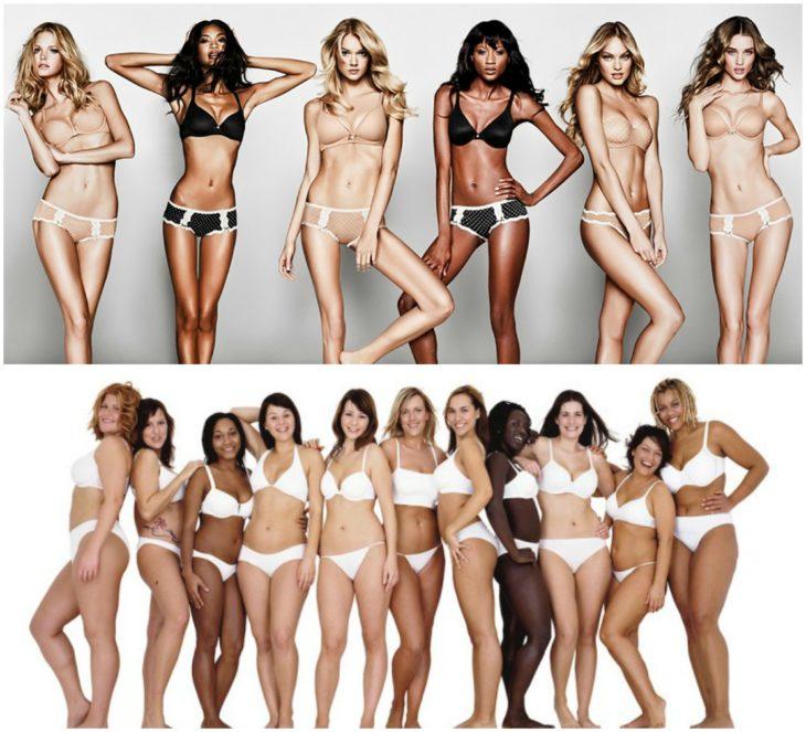 modelos reales y mujeres reales