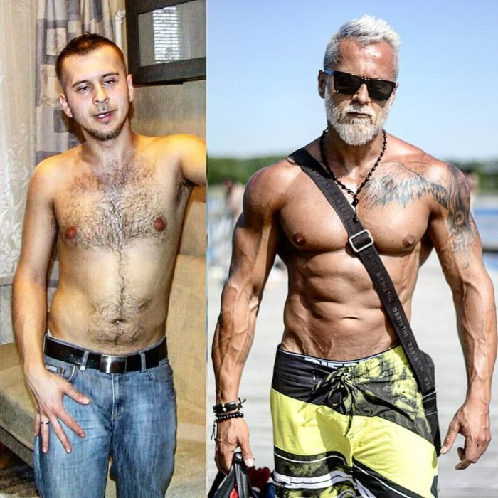 vikingo polaco antes y despues