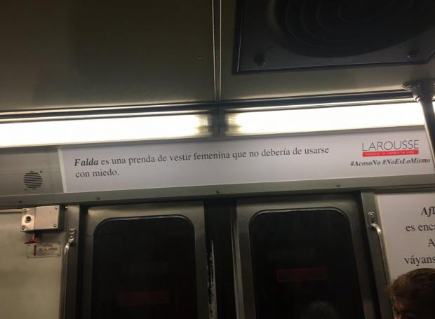 Campaña acosos sexual falda