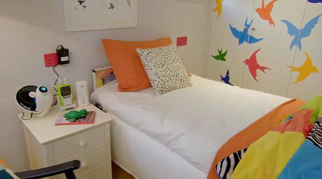 habitacion de niño con epilepsia