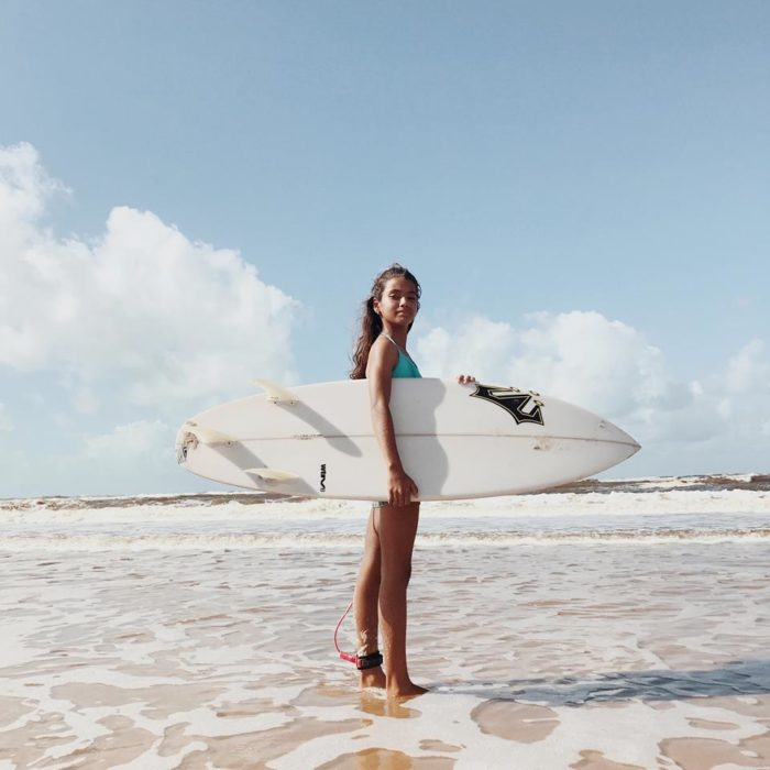 Sol Silva surfer de 11 años dream princess big