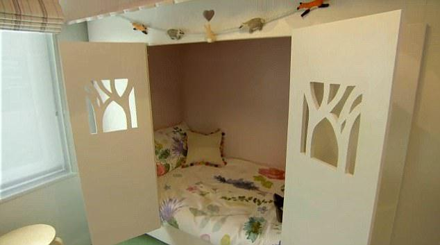 cuarto para niña con estress postraumatico