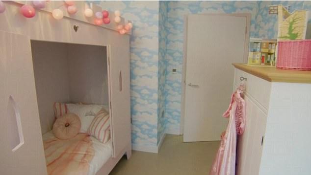 habitación de bella ratcliffe