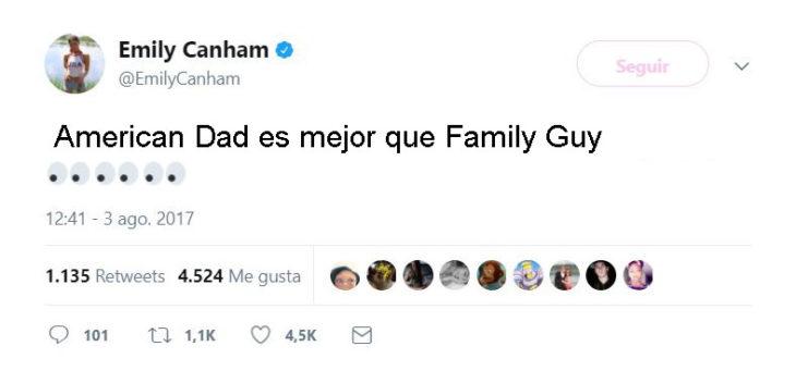 tuit american dad es mejor que family guy