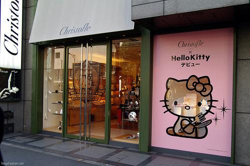 joyería de Hello Kitty