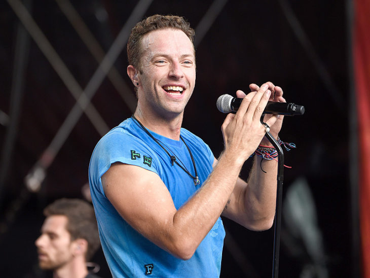chris martin coldplay feliz