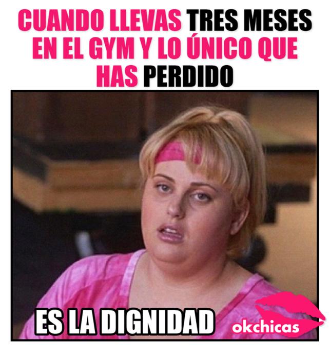 cuando vas al gym y no pierdes peso