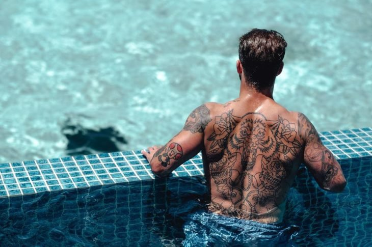 andre hamann tatuaje de la espalda