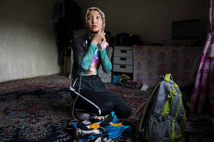 Dream Big Princess Zakia la primera mujer en montar en bicicleta en afganistan