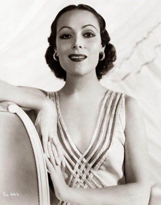 Dolores del Río look años 30