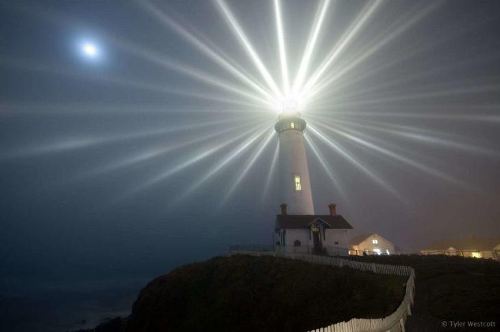 la luz de un faro