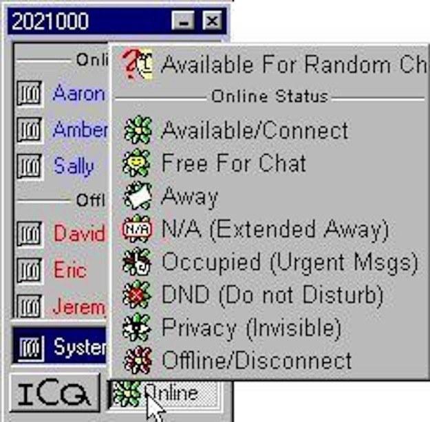 progama ICQ