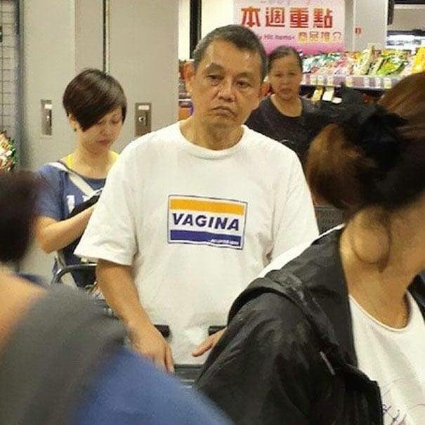 chinos no saben la ropa que usan