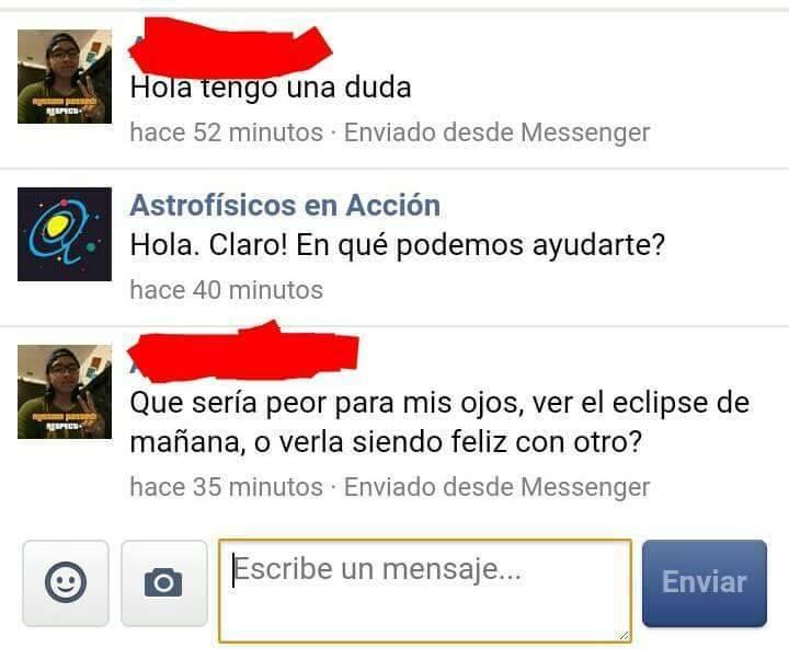 comentarios facebook eclipse solar