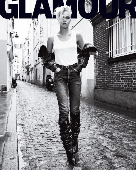 cara delevigne portada de glamour