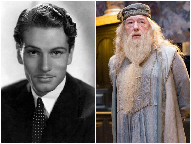 Albus Dumbledore/ michael gambon de joven